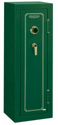 Stack-On® 8-Gun Hunter Green Fire-Resistant Safe with Combination Lock