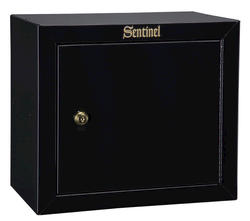 Sentinel™ 1.5 cu. ft. Capacity Black Steel Pistol/Ammo Cabinet with Key Lock