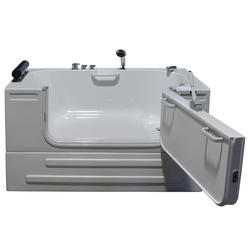 """Neptune Sit-In Tub with Warm air jets & 3ft Door 59x32"""" RD"""