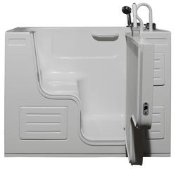 """Hydrolife Deluxe Soaking Walk-In Tub with faucet 51x27"""" RD"""
