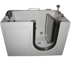 "Niagara Deluxe Walk-In Tub Heated H2O Jets 52x32"" RD"