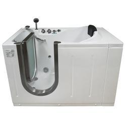 "Niagara Walk-In Tub Heated H2O Jets 52x29"" Left Drain"