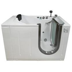 "Niagara Walk-In Tub Heated H2O Jets 52x29"" Right Drain"