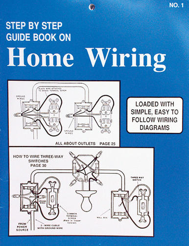 step-by-step guide book at menards® home electrical wiring neutral wire basics home electrical wiring basics book