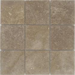 "StoneSkin® Travertine Peel N Stick Mosaic Tile 4"" X 4"""