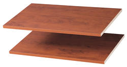 "EASY TRACK 24"" Natural Cherry Shelves (2-Pack)"