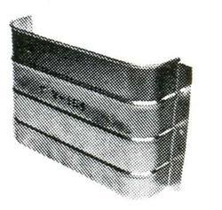 "Lux-Right 16"" x 4"" x 11-1/2"" Galvanized Steel Foundation Vent"