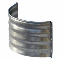 "Lux-Right 20"" x 8"" x 12"" Light Gauge Steel Foundation Vent"