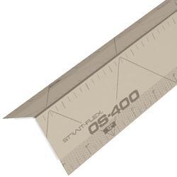 Strait-Flex OS-400 8' Outside 90° Paper-Faced Composite Corner Bead - Case of 50