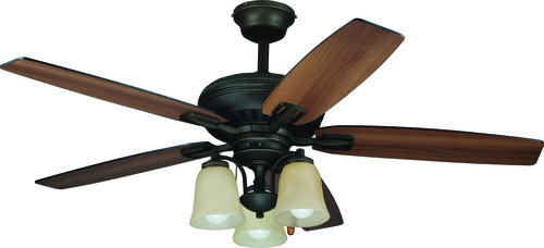 Turn Of The Century 174 Basin 52 Quot Oil Rubbed Bronze Ceiling Fan At Menards 174