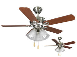 Turn of the Century® Hendrick 44 in. Brushed Nickel Ceiling Fan