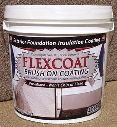 Styro Industries FlexCoat 2 gal. Brush-On Foundation Coating