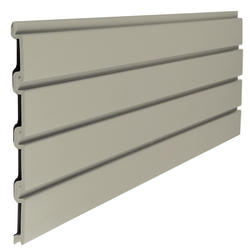 Suncast Storage Trends Taupe Slat Wall
