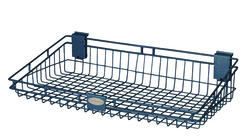 "Suncast Storage Trends 12"" x 24"" Metal Basket"