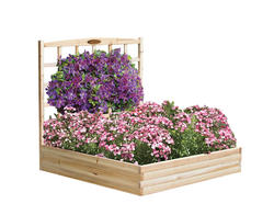 Suncast® Cedar Raised Bed with Trellis