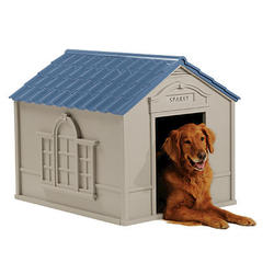 Suncast® Large Deluxe Dog House