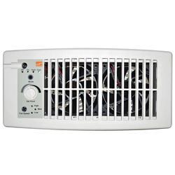 Suncourt Flush Fit Register Booster (White)