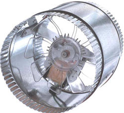 """Suncourt Air Boosting 6"""" Double Crimp In-Line Duct Fan"""