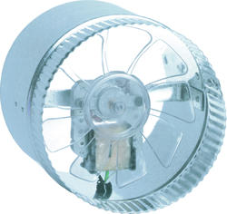 "Suncourt Air Boosting 6"" Round In-Line Duct Fan"