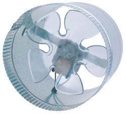"Suncourt Air Boosting 8"" Round In-Line Duct Fan"