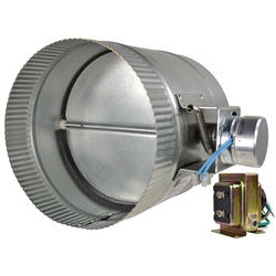 """Suncourt 8"""" Automated Damper Normally Closed"""