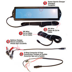 Coleman® 1 Watt Solar Power Sports Charger