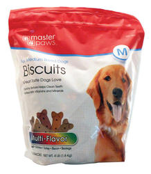 Masterpaws® Multi-Flavored Biscuits for Medium Breed Dogs - 4 lb.