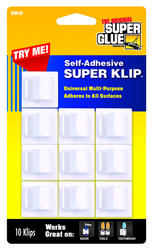 Super Glue® Self-Adhesive Super Klip™ (10-Pack)