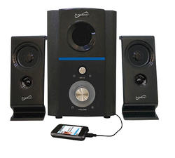 2.1 Multimedia Speaker System with USB/SD Inputs
