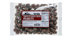 Old Mill Bag of Chocolate Double-Dipped Peanuts