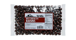Old Mill Bag of Chocolate Raisins