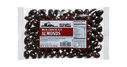 Old Mill Bag of Chocolate Almonds
