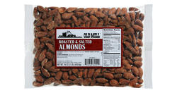 Old Mill Bag of Roasted & Salted Almonds