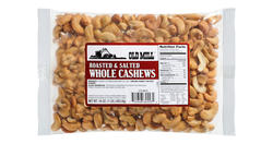 Old Mill Bag of Roasted & Salted Cashews