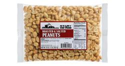 Old Mill Bag of Roasted & Salted Peanuts
