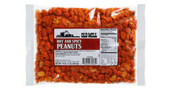 Old Mill Bag of Hot & Spicy Peanuts