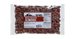 Old Mill Bag of Honey Roasted Almonds