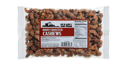 Old Mill Bag of Honey Roasted Cashews