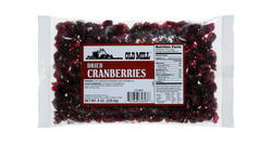 Old Mill Bag of Dried Cranberries