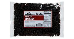 Old Mill Bag of Raisins