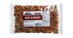 Old Mill Bag of Raw Almonds