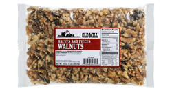 Old Mill Bag of Raw Walnuts