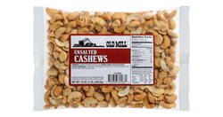 Old Mill Bag of N/S Whole Cashews