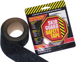 "Skid Guard 2"" x 96"" Black Antislip Tape"