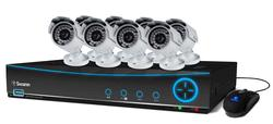 Swann 4200 9 Channel 960H Digital Video Recorder and 8 Camera Kit