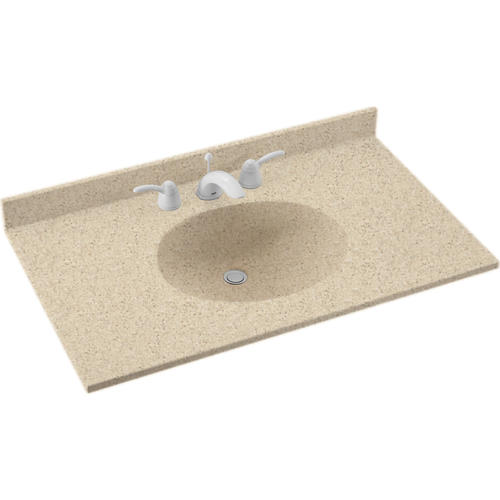 Solid Surface Vanity Tops : Swan Ellipse 22