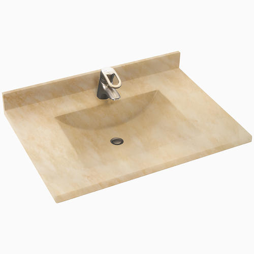 Swan Contour 22 X 25 Solid Surface Vanity Top At Menards