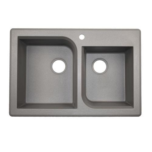 Menards Kitchen Sinks : Swan Granite 33