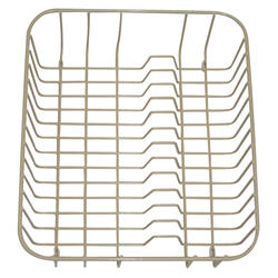 Swan Two-Sided Wire Basket for Double Bowl Kitchen Sink