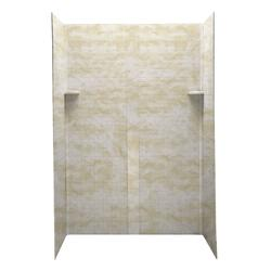 "Swan 34"" x 48"" Geometric Decorative Wall Panel Kit"